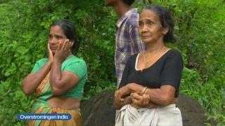800000 Mensen Vluchten Voor Moessonregens In India