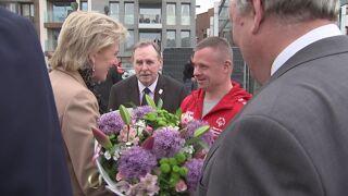 La princesse Astrid lance les Special Olympics à Saint-Nicolas