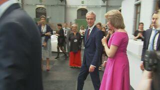 La reine Mathilde ouvre les Journées européennes du développement, à Bruxelles