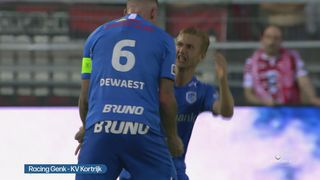 Bekijk Het Verslag Van Racing Genk Kv Kortrijk 2 1 Jupiler Pro League Sporza