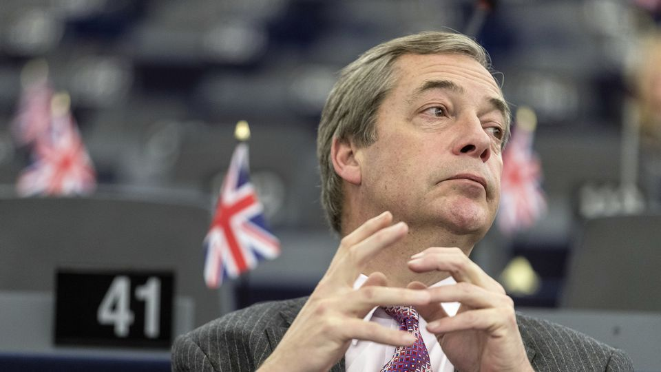 """Farage: """"Van Rompuy ought to pay me for it"""""""