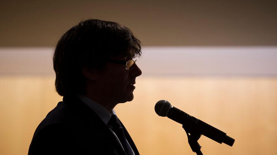 Carles Puigdemont s'est présenté à la police fédérale belge