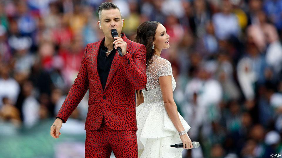 Robbie Williams En Aida Garifullina