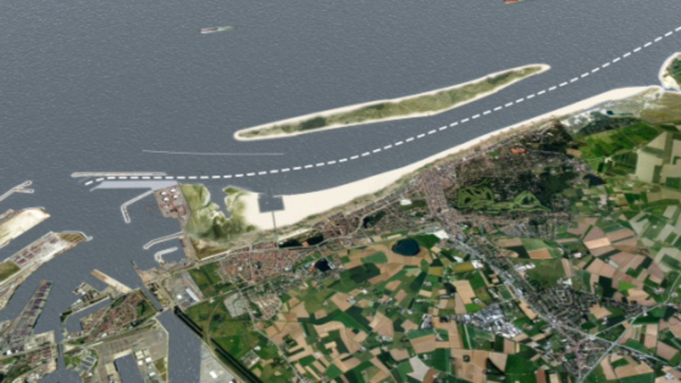 Plans for new island off the belgian coast postponed after hot
