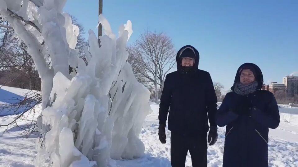 Afbeeldingsresultaat voor koude in Chicago