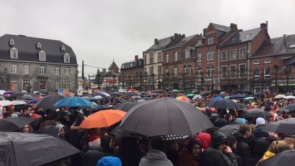 Thousands of Belgians join global climate protest