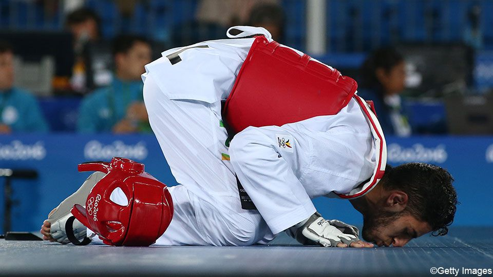 Gold for Belgium in Taekwondo