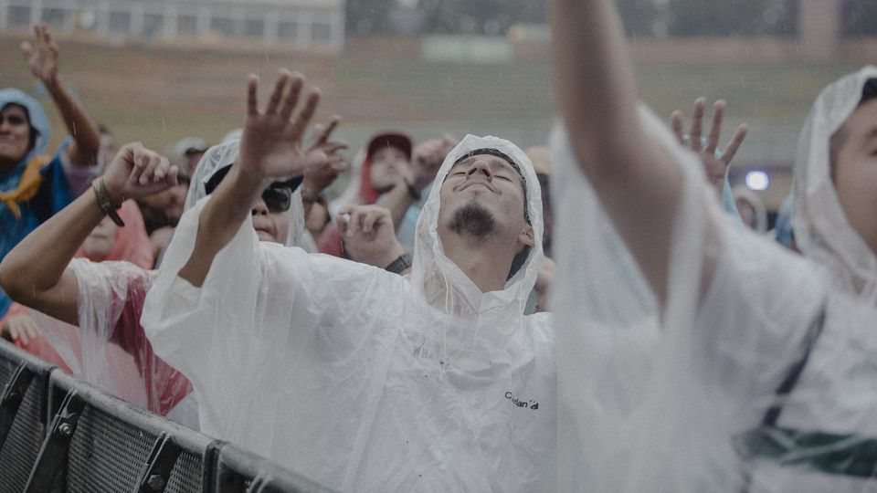 Torrential rain greets music fans at Tomorrowland