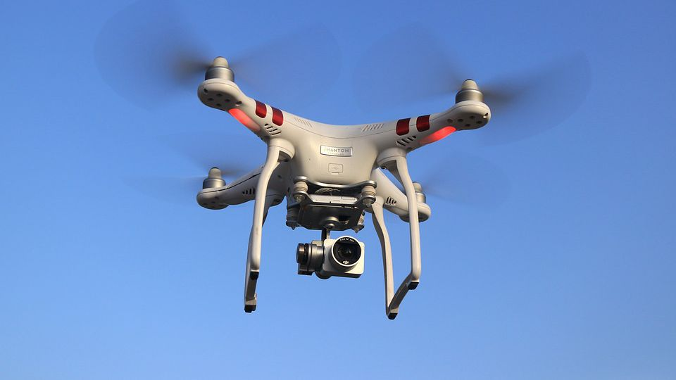 Antwerp police to use nets to catch dangerous drones