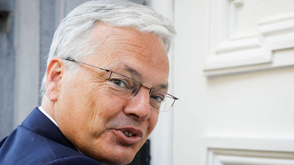 Mr Reynders named in corruption investigation