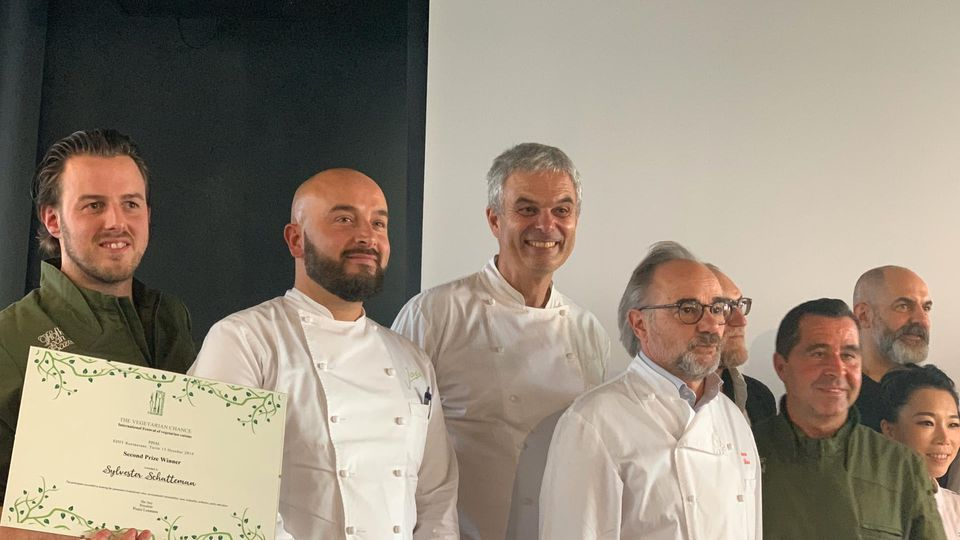 East Fleming takes silver at the World Vegan Cooking Championships