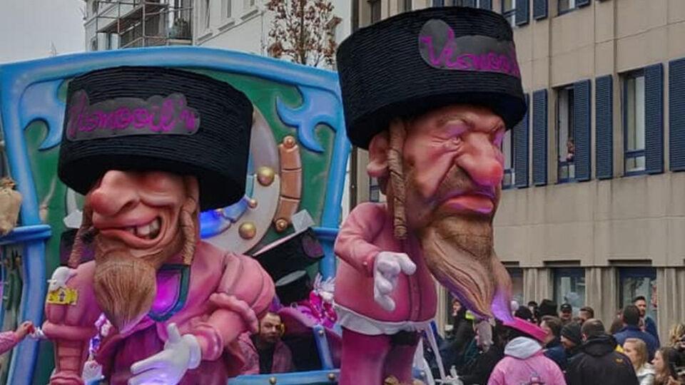 Joodse karikaturen op Aalst Carnaval niet of genuanceerd in de media tonen, lijkt op censuur | VRT NWS: nieuws